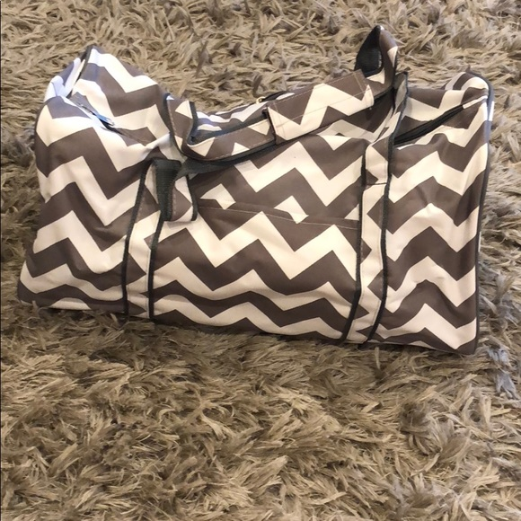 n.gil Handbags - NWT chevron duffel bag by n.gil